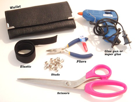 DIY Clutch Wallet Supplies DIY: Clutch Purse