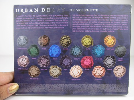 UD Vice3 Urban Decay Vice Palette   review, photos & swatches