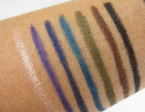 MUFEultimate10 MAKE UP FOR EVER: The Ultimate Eye Liner Collection   review, swatches and swooning