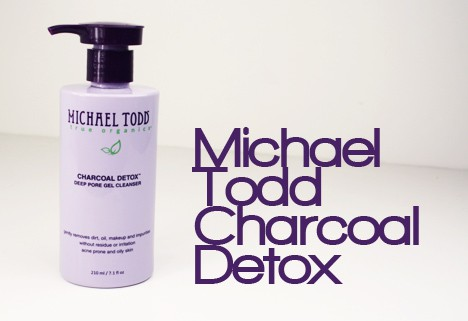 MichaelToddCharcoal1 Michael Todd Charcoal Detox Deep Pore Gel Cleanser Review