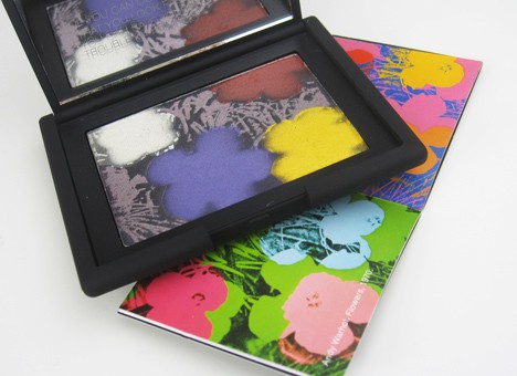 NARSFlowers4 NARS Andy Warhol Flowers 1 Eyeshadow Palette   review, swatches & looks