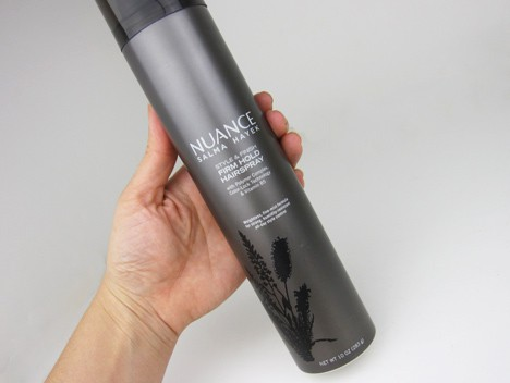 Nuancehaircare7 Nuance Salma Hayek Argan Oil Shampoo and Conditioner   review