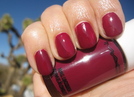 MACArchieNail7 MAC Archies Girls Nail Lacquers   review, photos & swatches