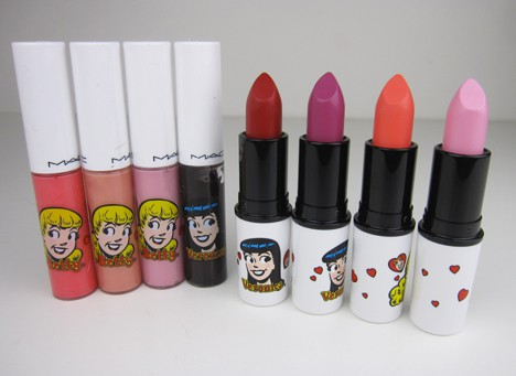 MACArchielips11 MAC Archie's Girls Lips and Cheeks – review, photos & swatches