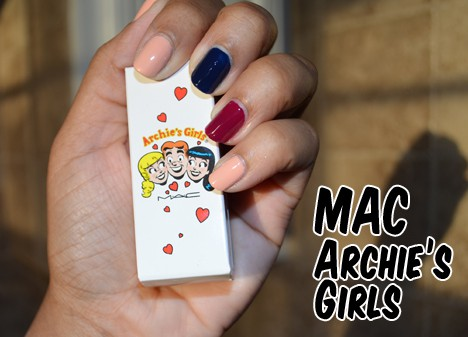 archiesgirl001 MAC Archies Girls Nail Lacquers   review, photos & swatches