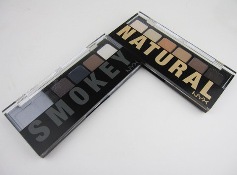 NYXNatSmok2 NYX  Natural Eyeshadow Palette and Smokey Eyeshadow Palette   swatches and review