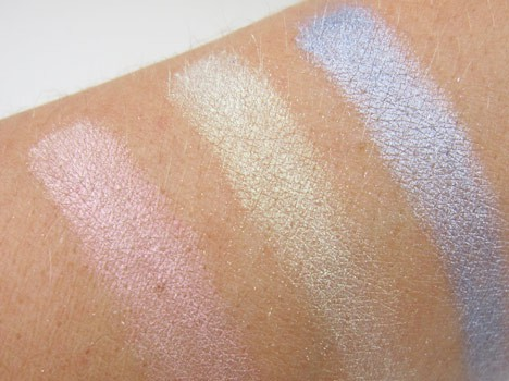 MAC extra dimension swatches