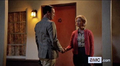 Mad Men Peggy and Don Mad Men Musings: The Better Half