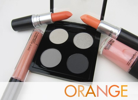 MACorange MAC All About Orange   swatches and review