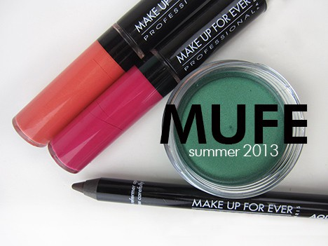 MUFEsummer13A MAKE UP FOR EVER Aqua Summer 2013 – swatches and review