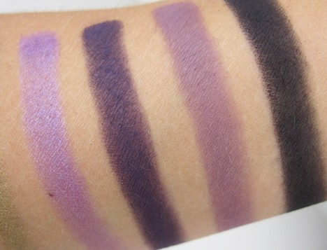 MAC rick baker spider queen swatch