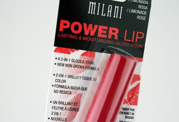 Milani Power Lip 3 Milani Power Lip   Swatches and Review