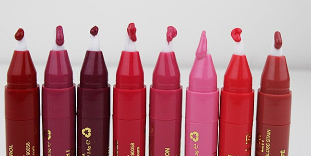 Milani Power Lip 5 Milani Power Lip   Swatches and Review