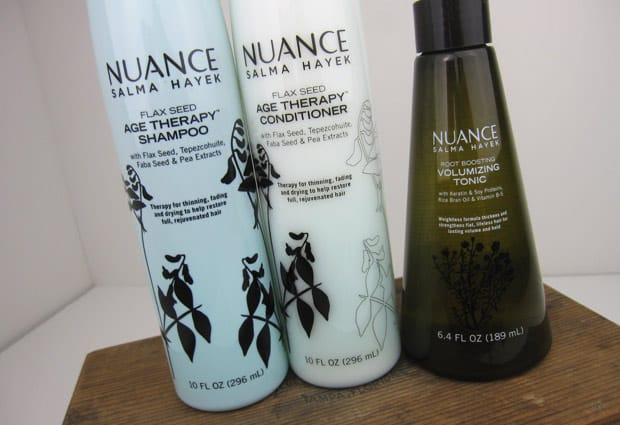 Nuance Hair 1 Nuance Salma Hayek Hair Care   Photos and Review