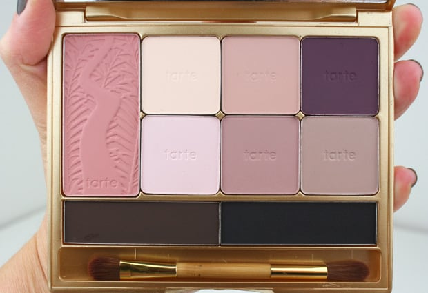 tarte be Mattenificent palette 1 tarte Be MATTEnificent Eye & Cheek Palette   Swatches and Review