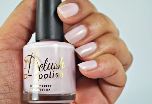 Delush Make Me Blush 4 Delush Polish XO Collection   swatches and review