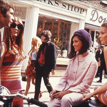 1960s swinging London: teenagers on Carnaby Street