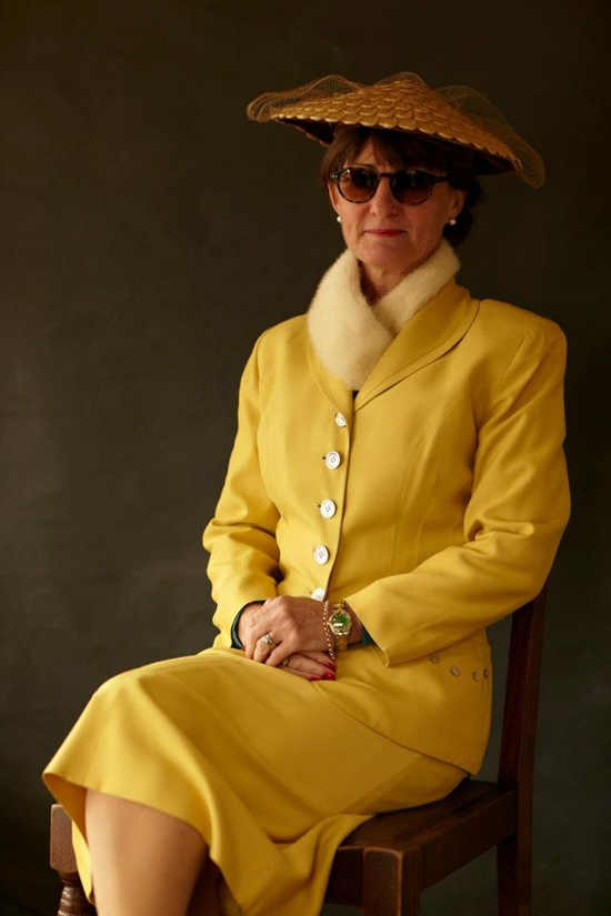 Goodwood Revival 1940s fashions 2012