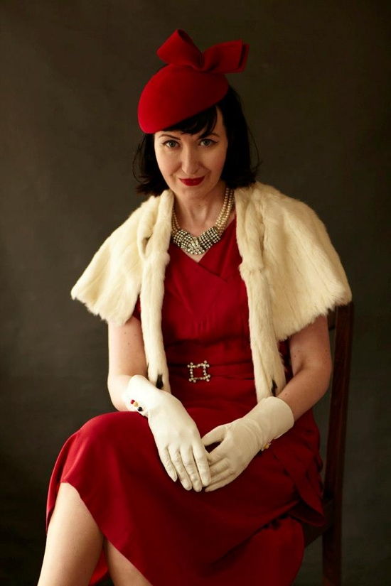 Goodwood Revival 1950s fashions 2012