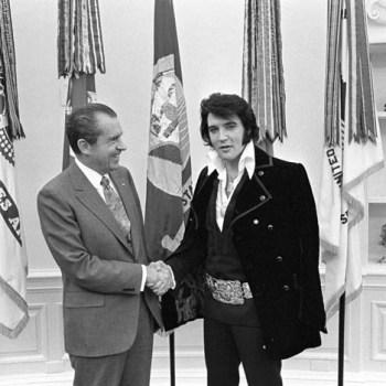 When Elvis met Nixon