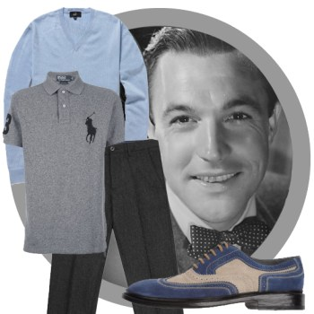 Vintage Look Book: Off-Duty Gene Kelly