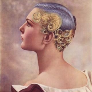 1930s purple hair