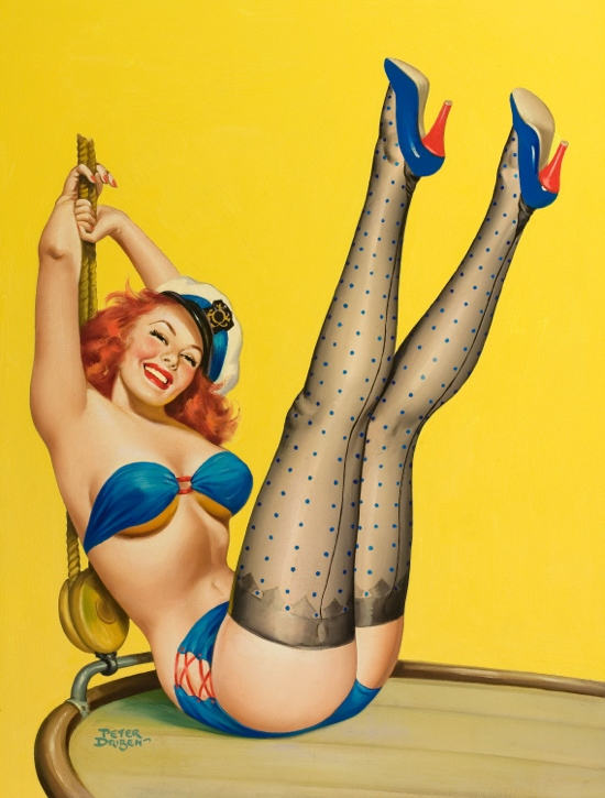"6304da5168 1950s pin up ""First Mate"" – We Heart Vintage blog  retro fashion ..."