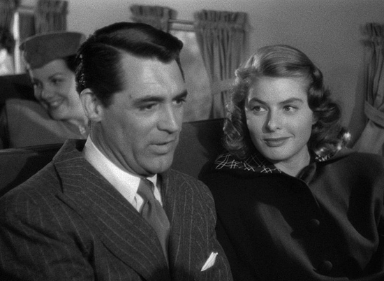 "Cary and Ingrid in ""Notorious"""