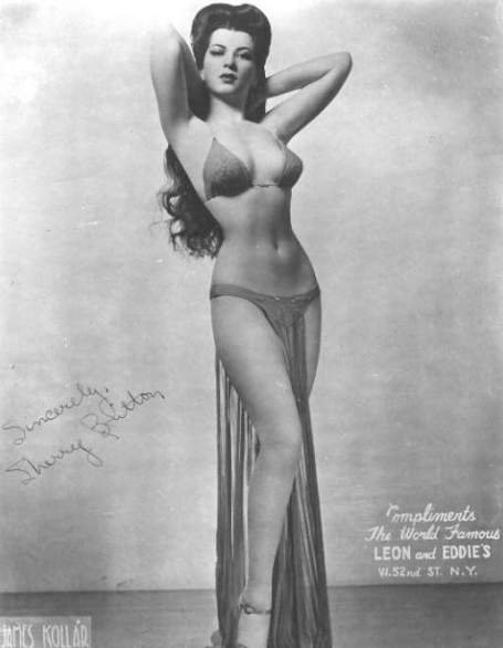 Pin-up photo of Sherry Britton 1940s