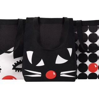My vintage: the Lulu Guinness 60s-style Red Nose Day tote