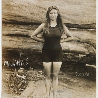 A surprisingly modern swimsuit from 1912