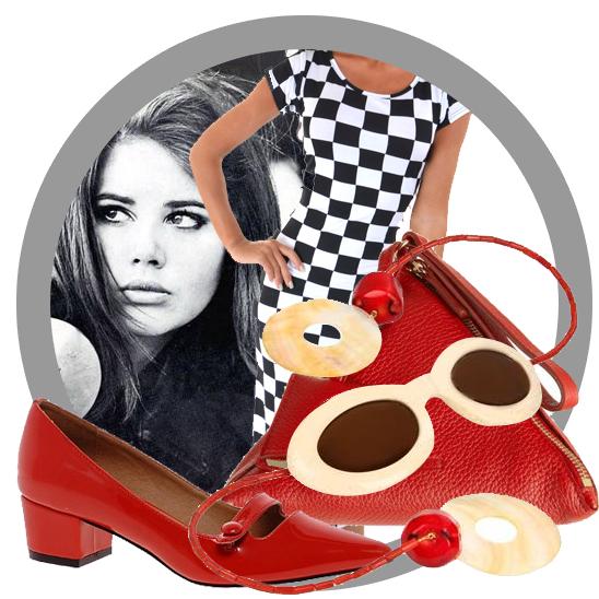 Louis Vuitton 1960s style fashion