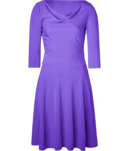 Purple Swing Dress by Halston Heritage