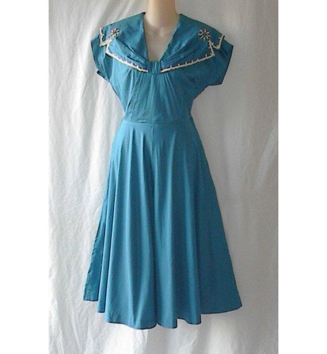 vintage swing dress