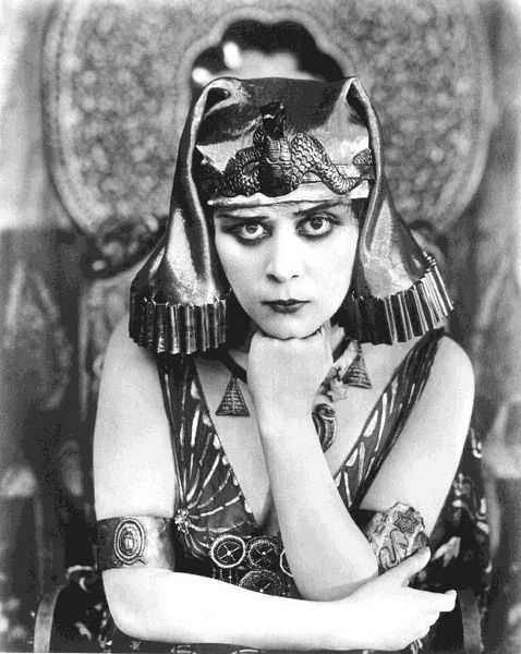 Image result for theda bara cleopatra public domain images