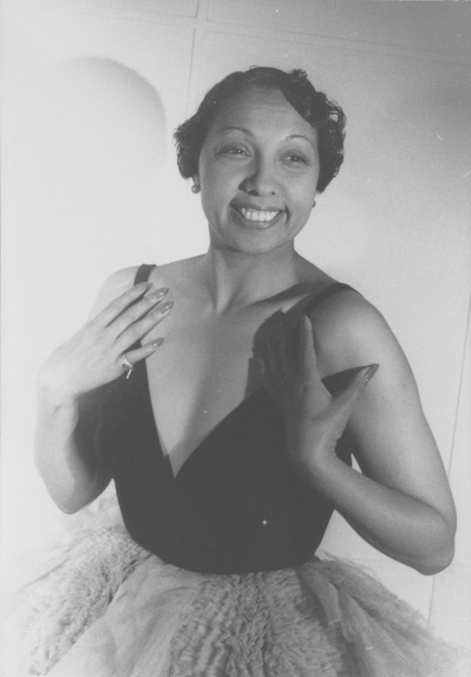 Josephine Baker in the late 1940s