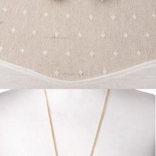 Win a gold collar necklace (or a cute bird necklace)