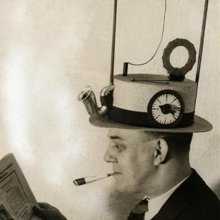 The 1930s radio hat