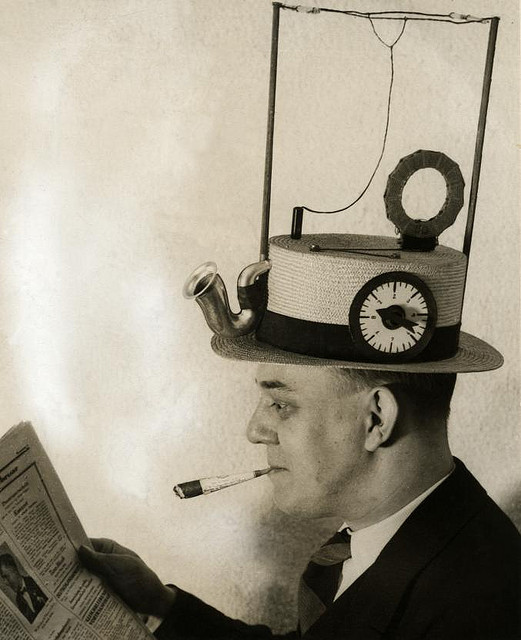 The 1930s radio hat