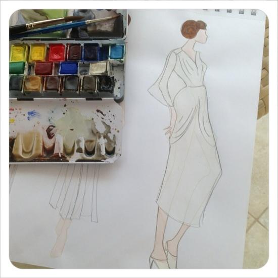 Princess Leia's party dress