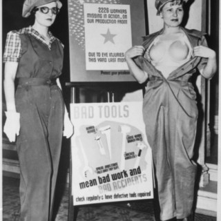 The realities of war: 1940s breast-protecters (yes, really)