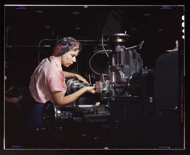 1940s factory girls