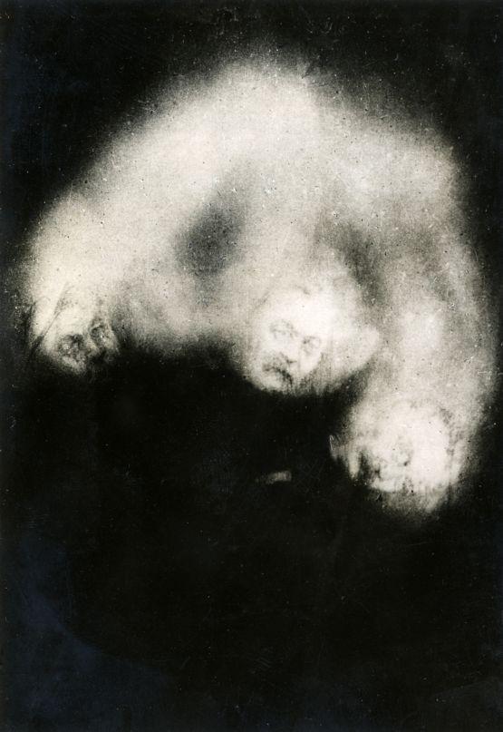 Vintage ghost photo of Arthur conan doyle