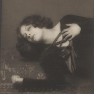 Young Greta Garbo aged 15
