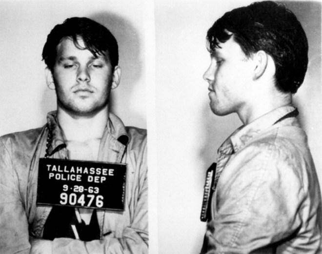 Celebrity mug shots: Jim Morrison