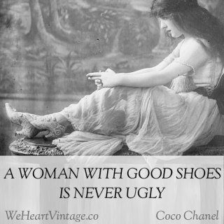 Quotes: Coco Chanel on shoes