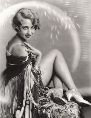 Doris Eaton Travis as Ziegfeld Girl