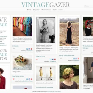 Revealing my secret vintage project (and giving away a necklace!)