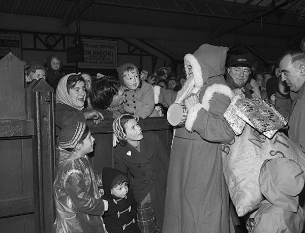 1950s Santa Claus