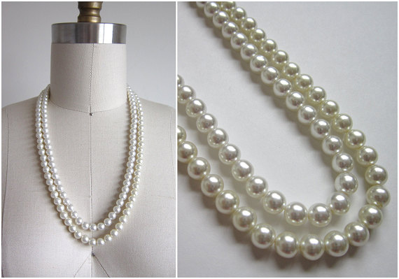 Vintage 1960s Pearl Necklace